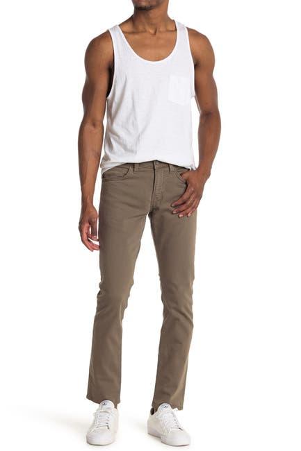 Image of Mavi Jake Khaki Washed Comfort Jeans