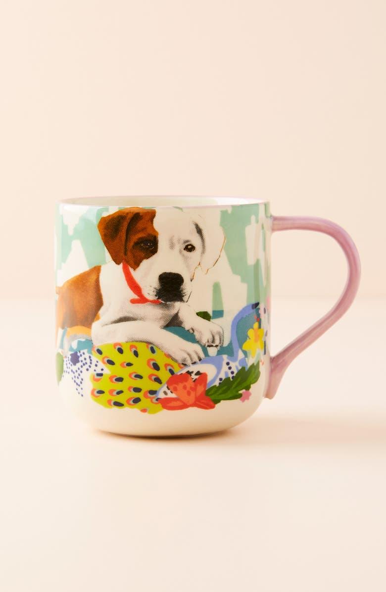 ANTHROPOLOGIE Jay McClellan Mug, Main, color, JADE