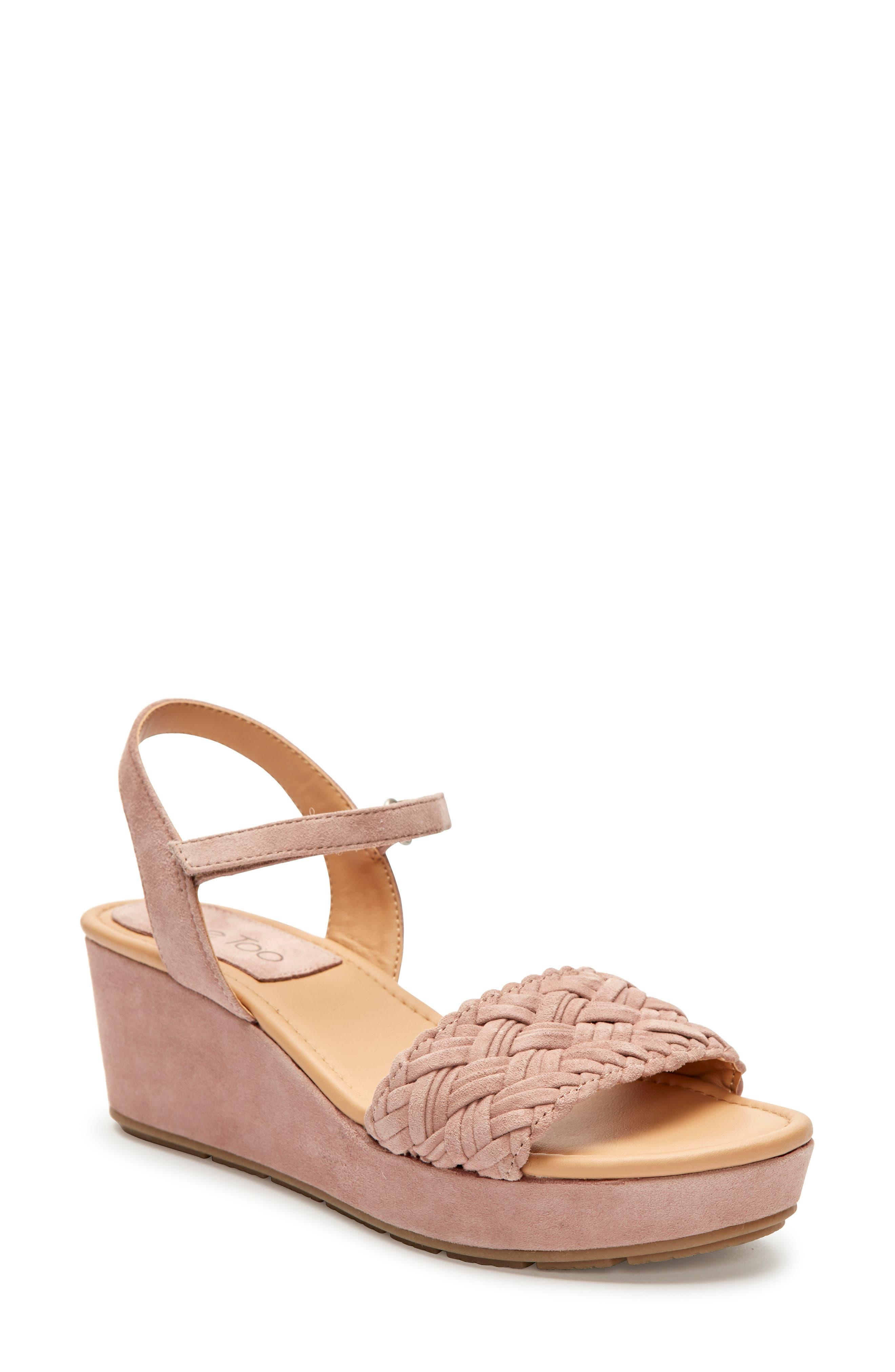 Me Too Abella Wedge Sandal- Pink