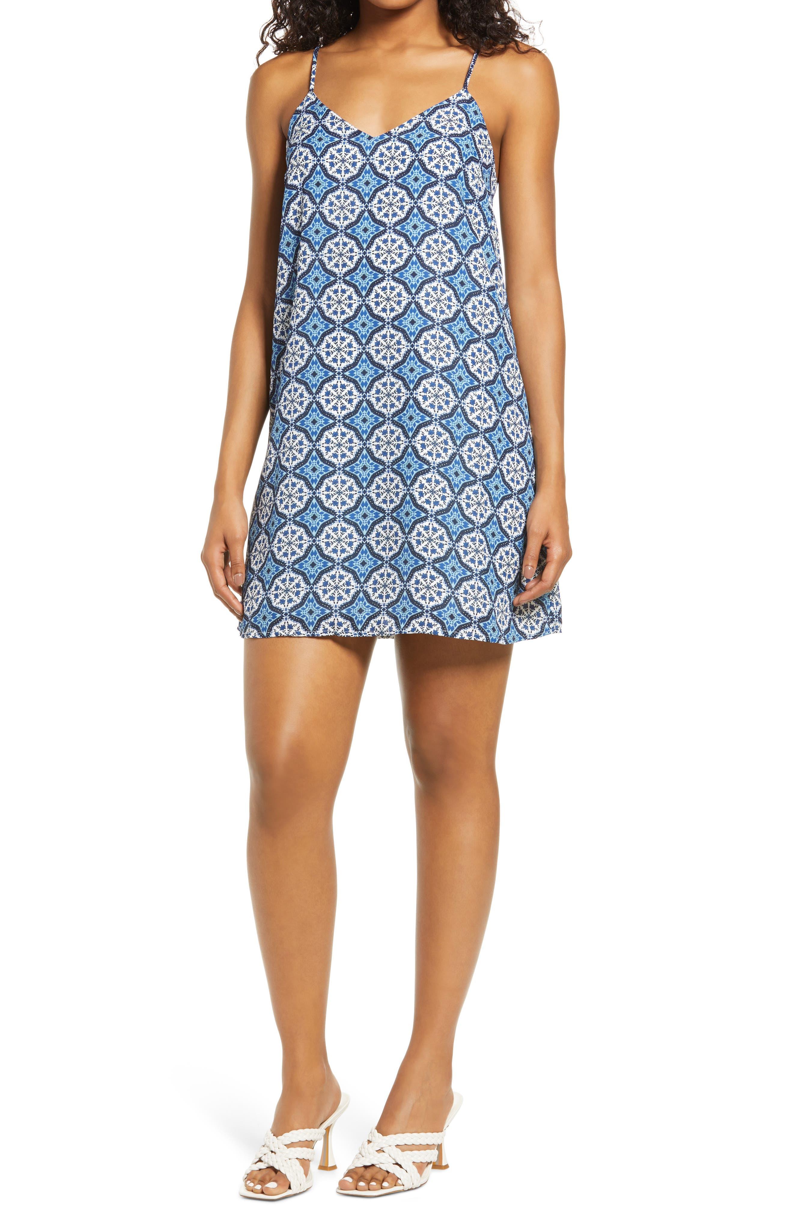 Audrey Print Shift Dress