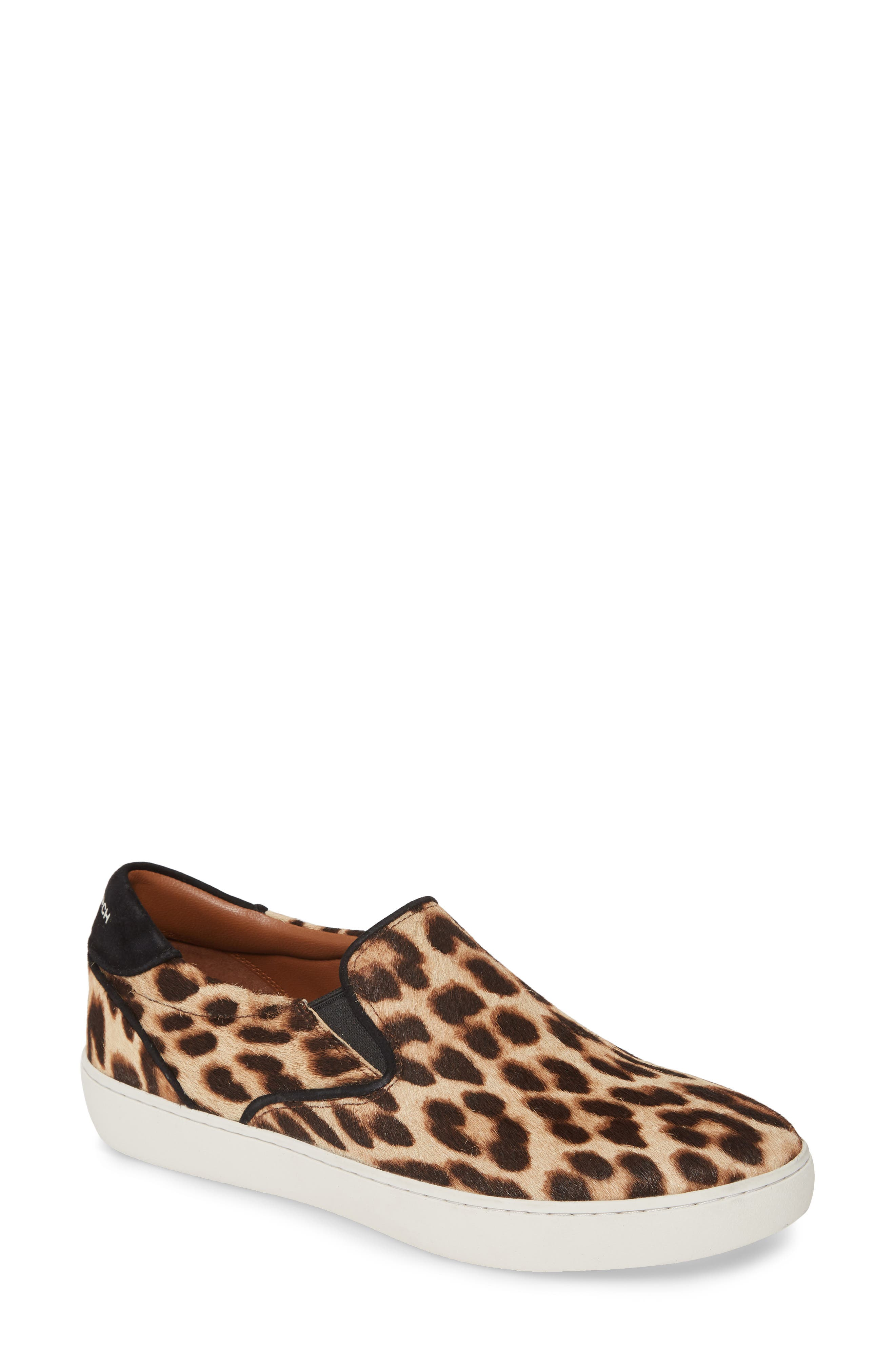 Tory Burch Flats Genuine Calf Hair Sneaker