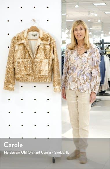 43SI3NNA Faux Fur Jacket, sales video thumbnail