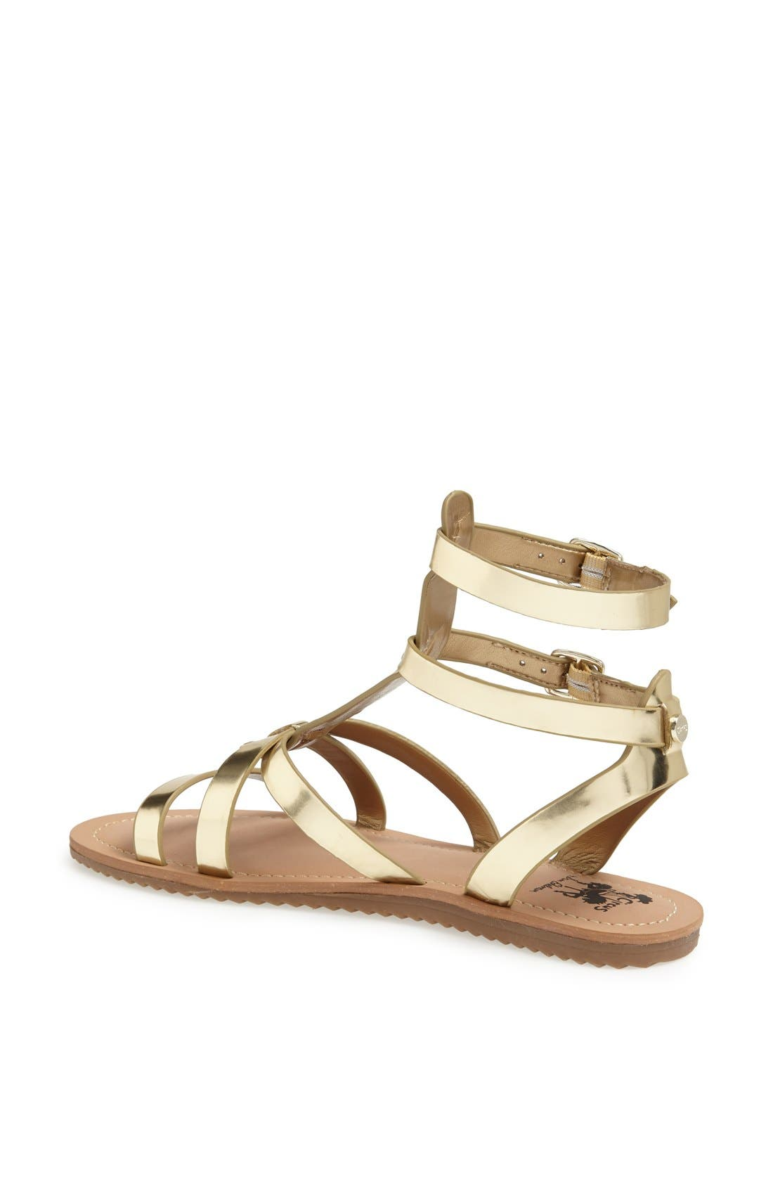 ,                             'Selma' Gladiator Sandal,                             Alternate thumbnail 22, color,                             710