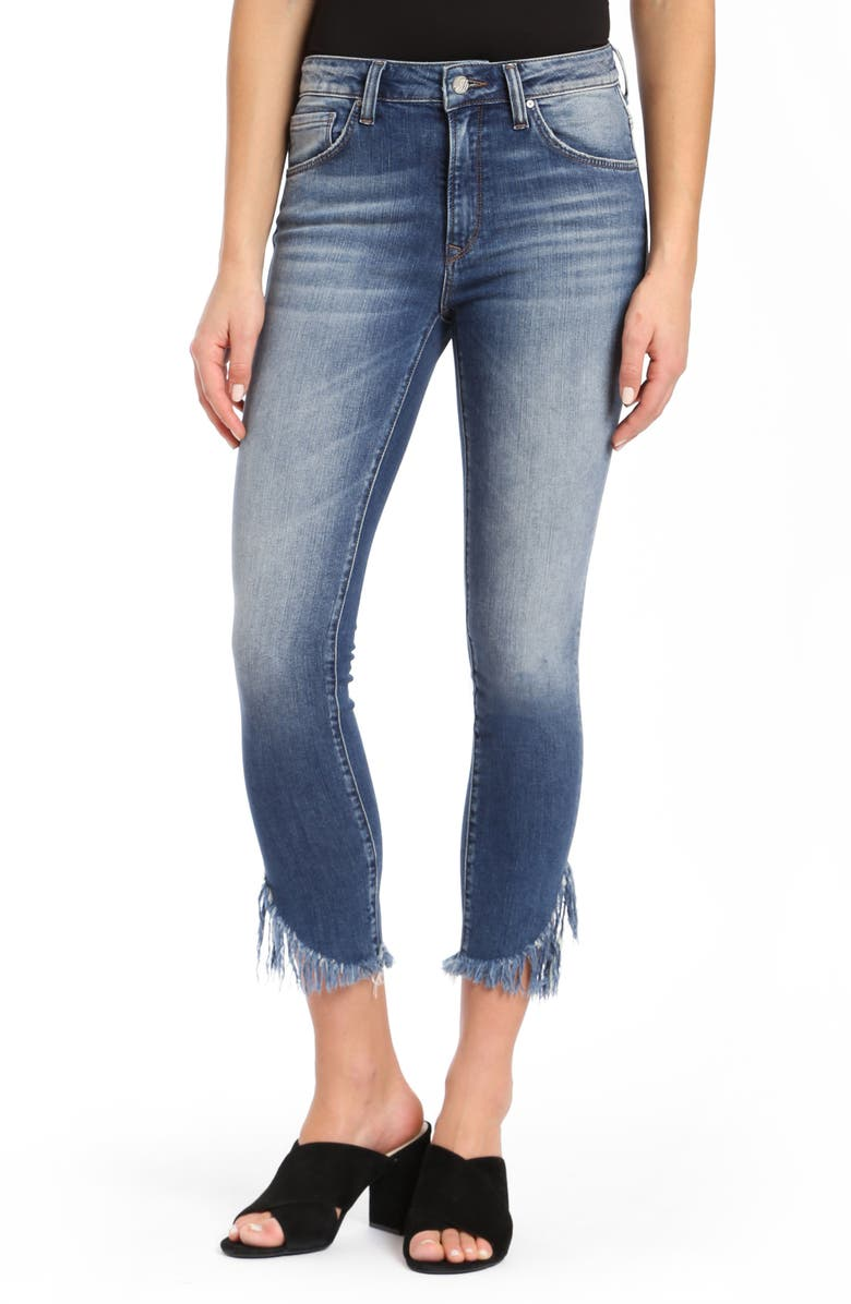 MAVI JEANS Tess Extreme Ripped Super Skinny Jeans, Main, color, EXTREME RIPPED VINTAGE