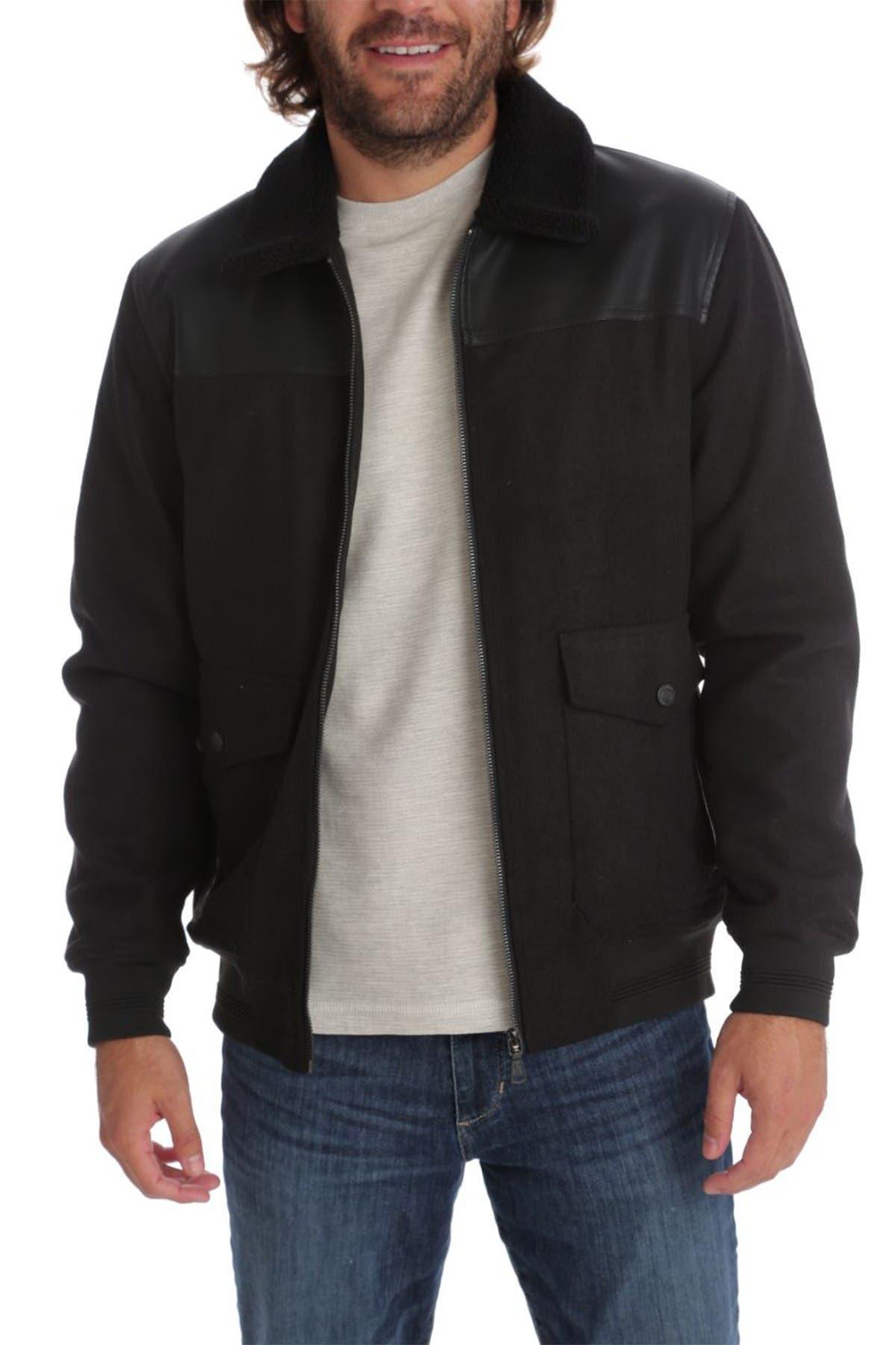 Image of PX Peter Melton Faux Leather Jacket