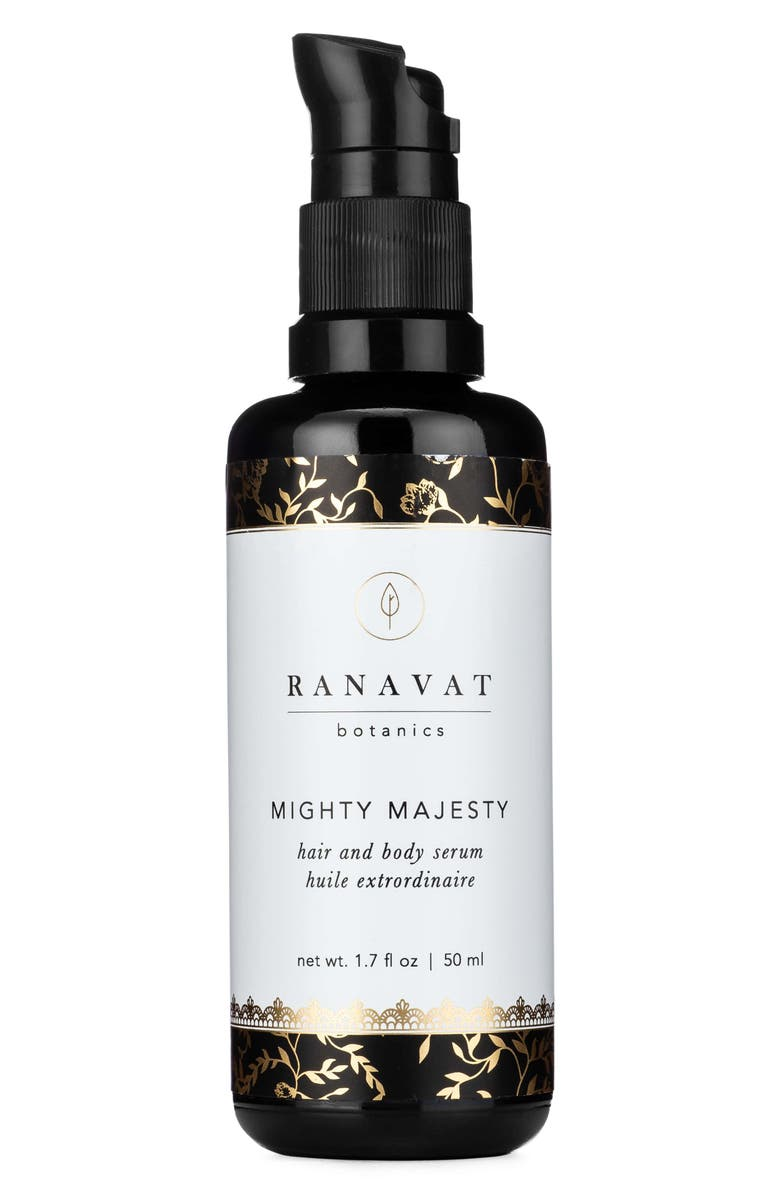 RANAVAT BOTANICS Mighty Majesty Hair and Body Serum, Main, color, 100