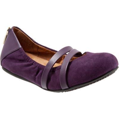 Softwalk Sierra Flat, Purple