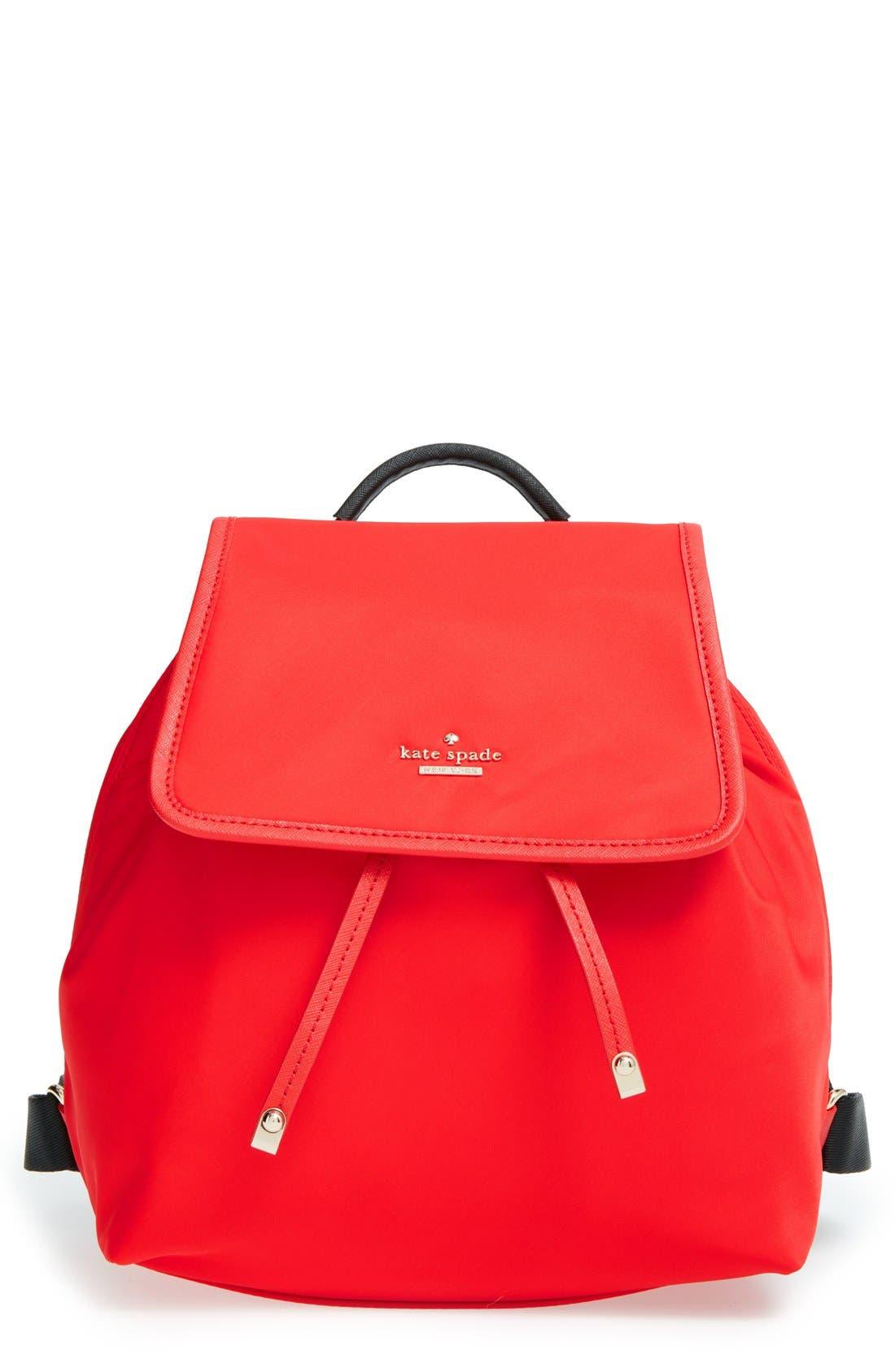 ,                             'molly' nylon backpack,                             Main thumbnail 3, color,                             600