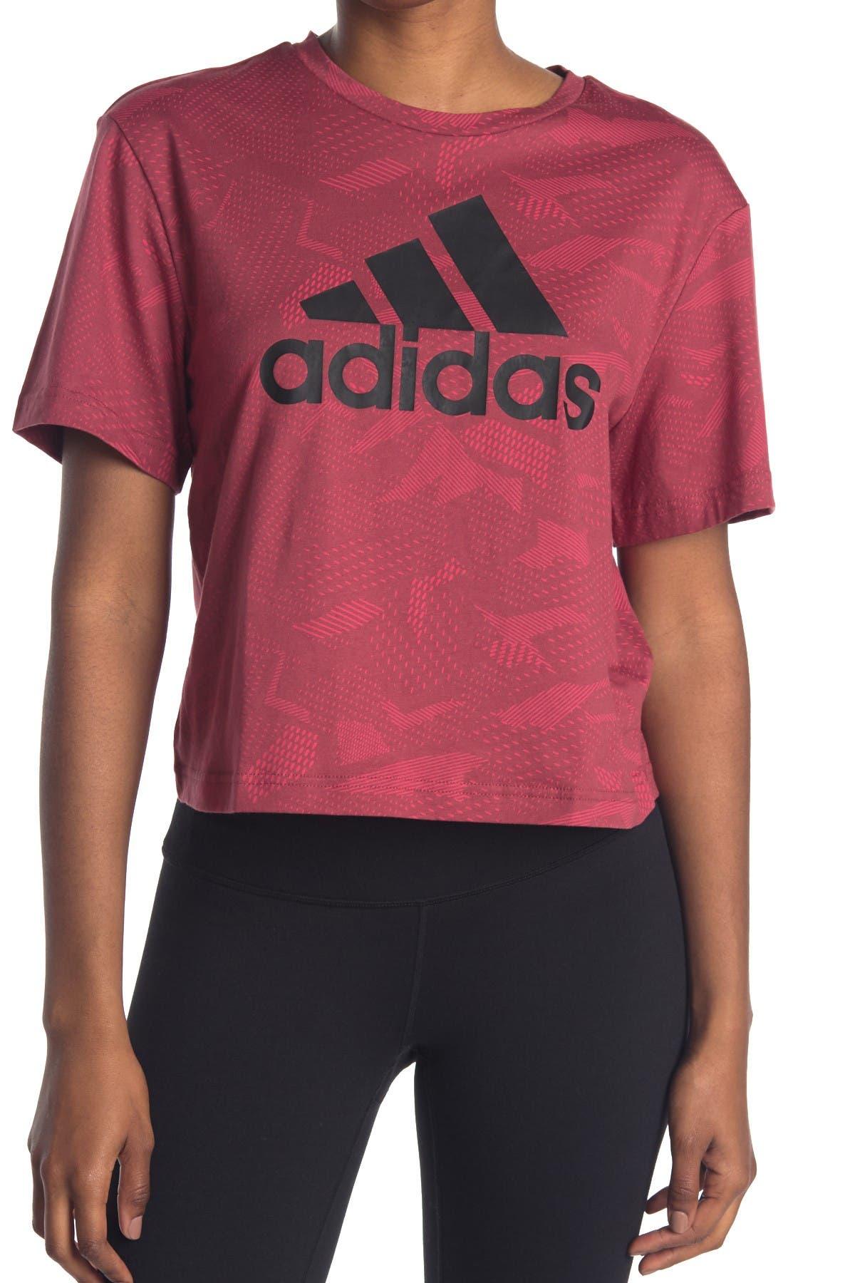 Image of adidas Cropped Logo Tee