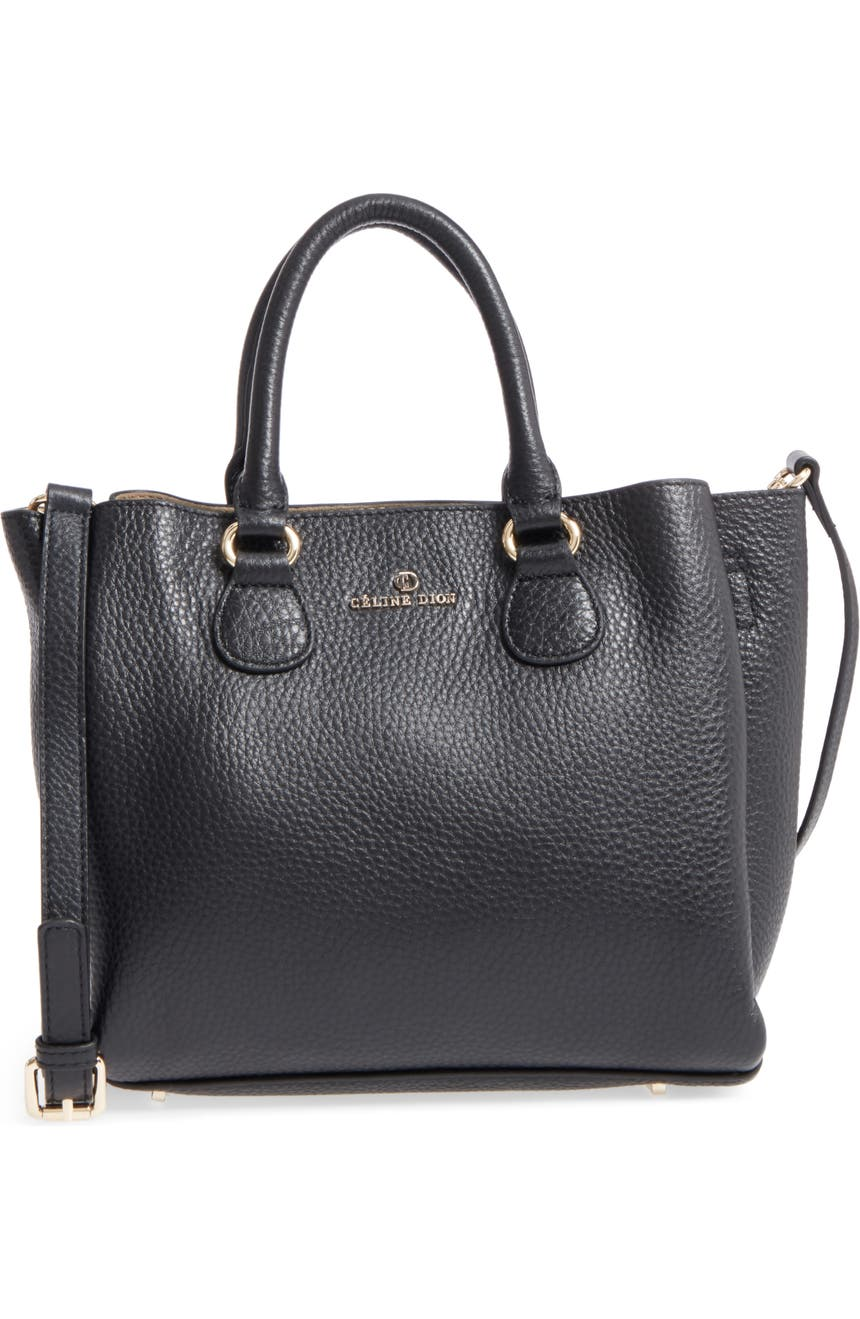 Céline Dion Small Adagio Leather Satchel