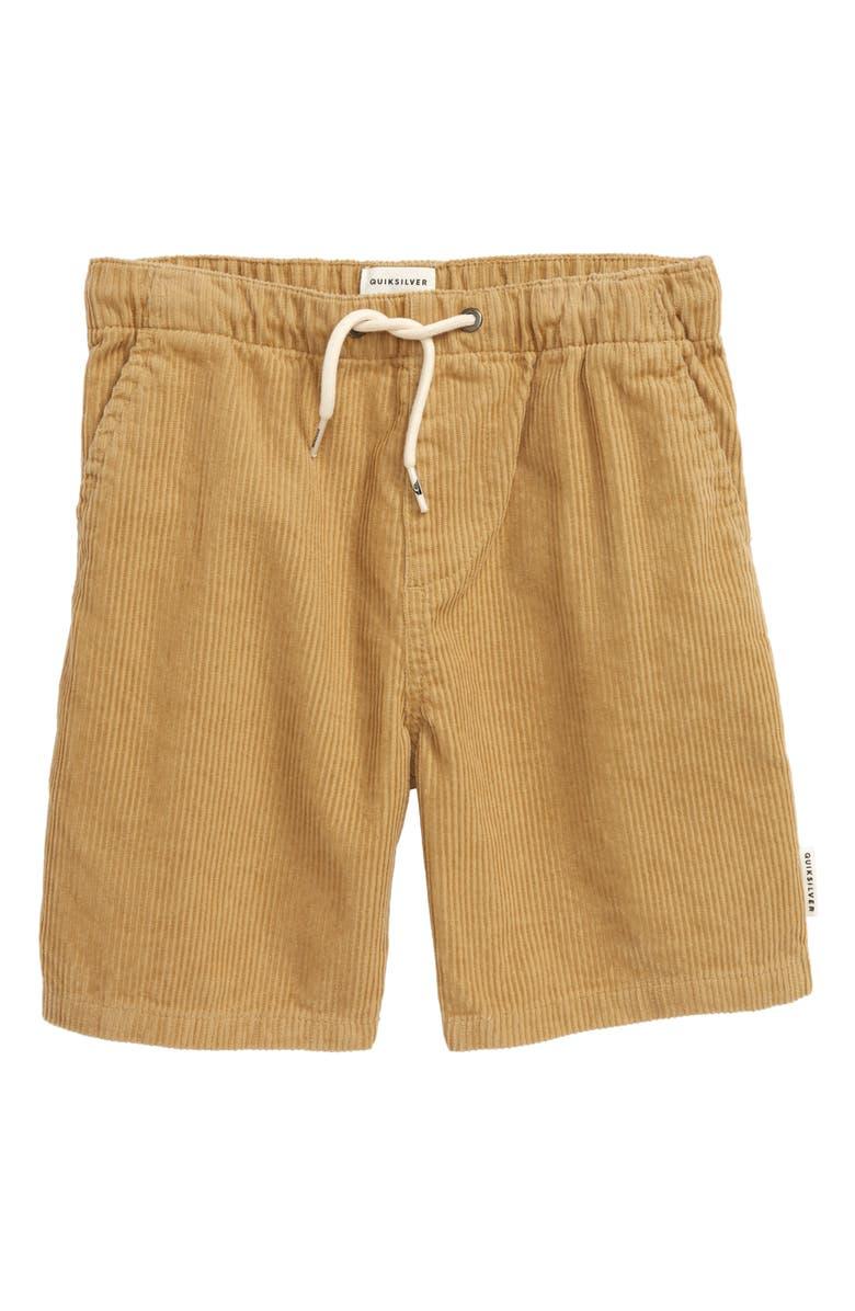 QUIKSILVER Wax Out Shorts, Main, color, PLAGE