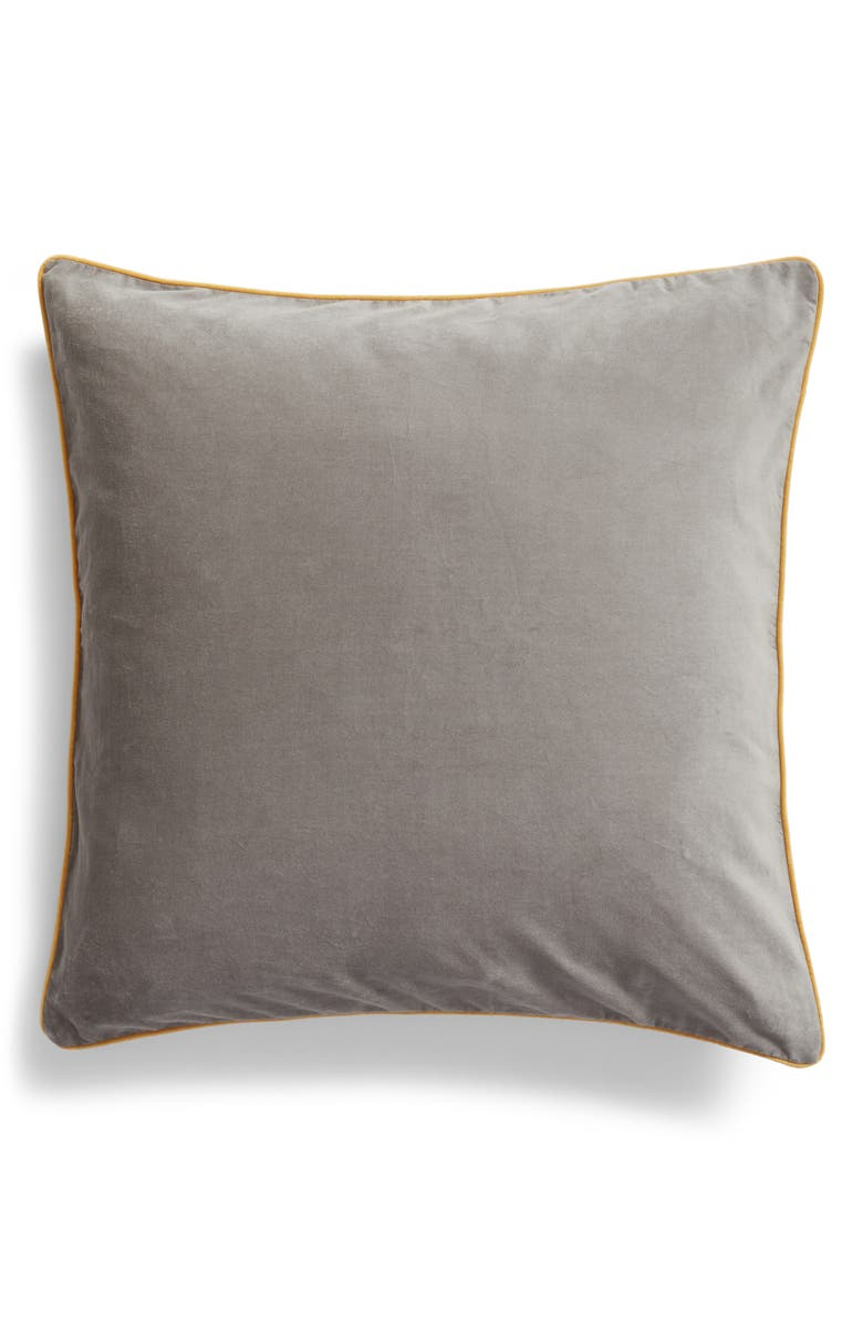 Velvet Border Accent Pillow by Nordstrom At Home