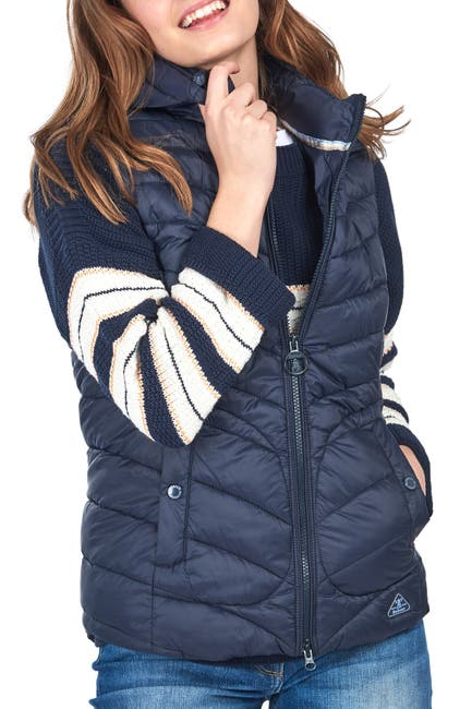 Image of Barbour Fulmar Gilet Navy