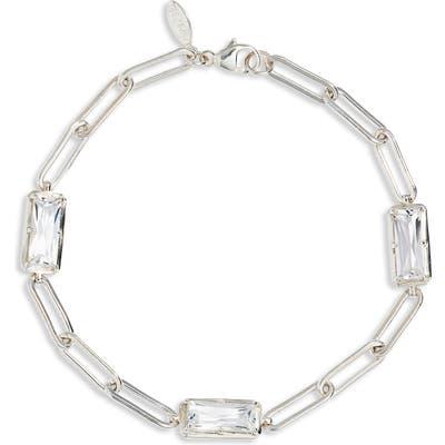 Anzie Dew Drop Baguette Link Bracelet
