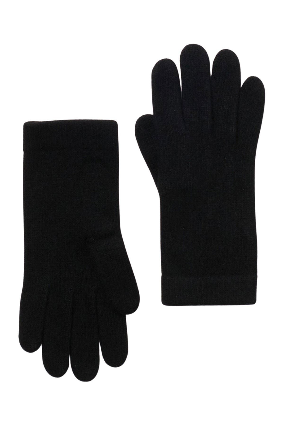 Image of Portolano Solid Cashmere Gloves