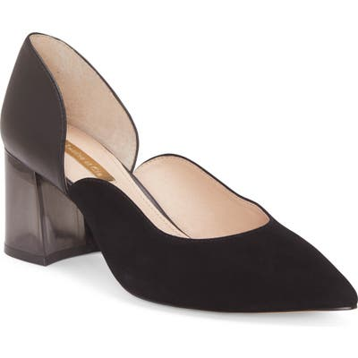 Louise Et Cie Johana Pointy Toe Pump- Black