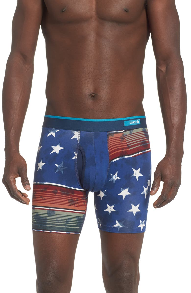 STANCE Americana Boxer Briefs, Main, color, NAVY