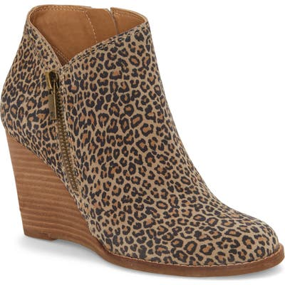 Lucky Brand Yewani Bootie, Brown