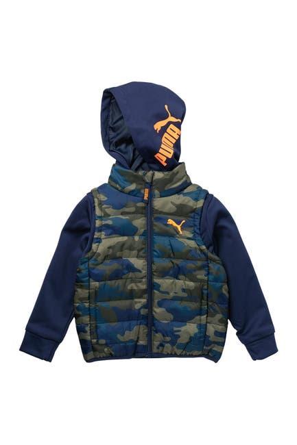Image of PUMA Twofer Vest & Hoodie