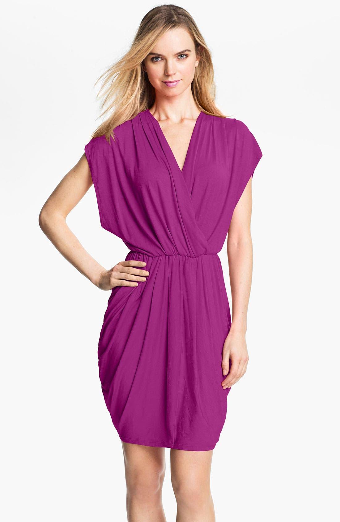 ,                             Faux Wrap Pleated Dress,                             Main thumbnail 16, color,                             540