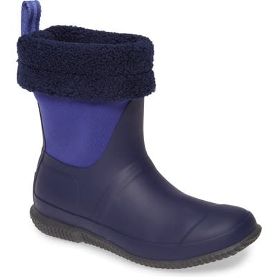 Hunter Original Insulated Slipper Boot, Purple