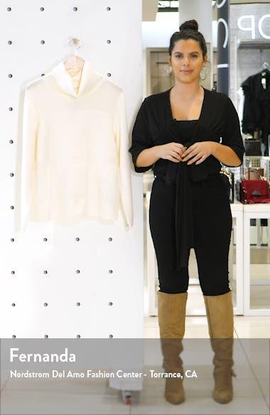 Shea Wool Blend Turtleneck Sweater, sales video thumbnail