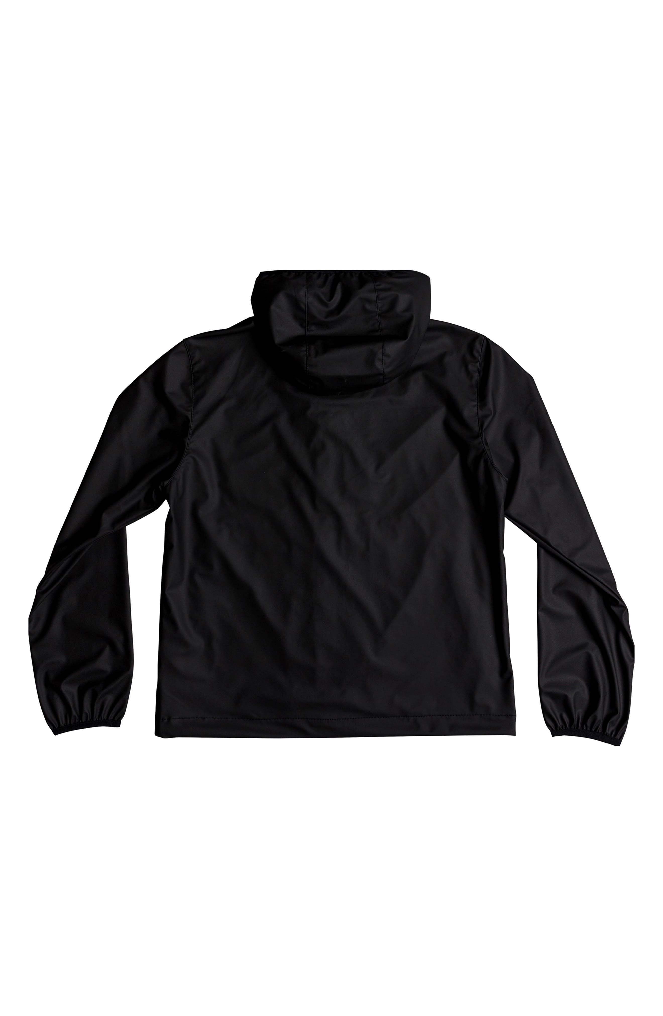 ,                             Kamakura Rains Hooded Rain Jacket,                             Alternate thumbnail 2, color,                             BLACK