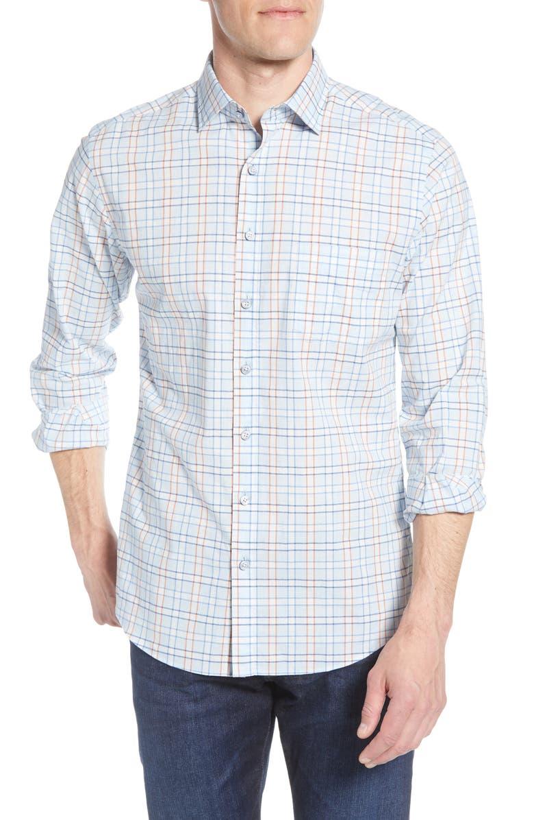 Rodd Gunn Glen Massey Regular Fit Check Button Up Shirt