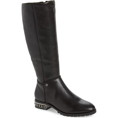 Karl Lagerfeld Paris Seine Knee High Boot, Black