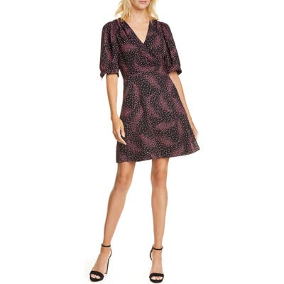Kate Spade New York Meadow Wrap Dress, Black