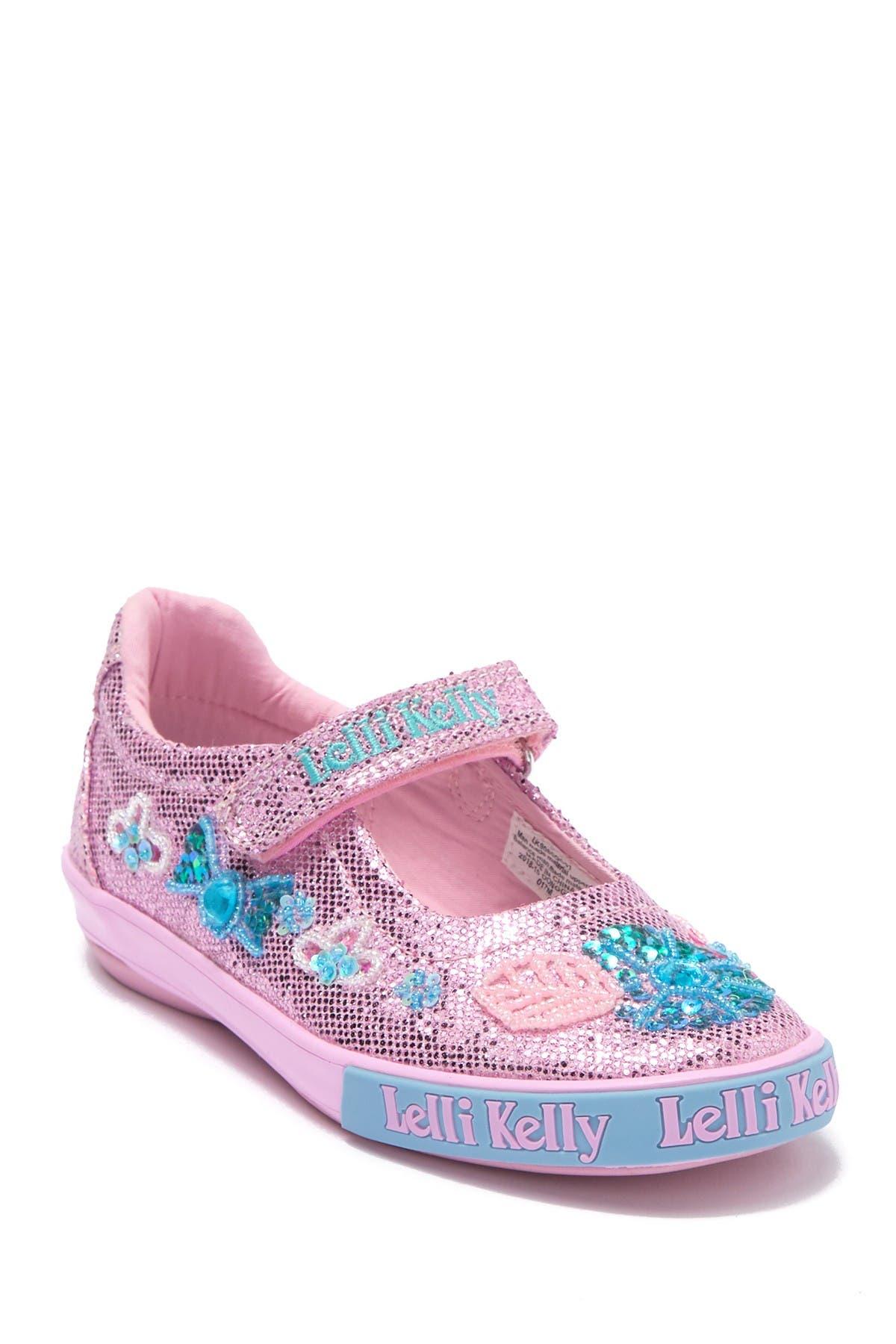 Glitter Daisy Dolly Mary Jane Sneaker
