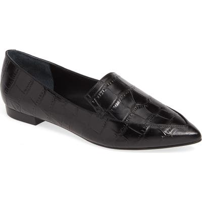 Marc Fisher Ltd Zurri Pointy Toe Loafer, Black