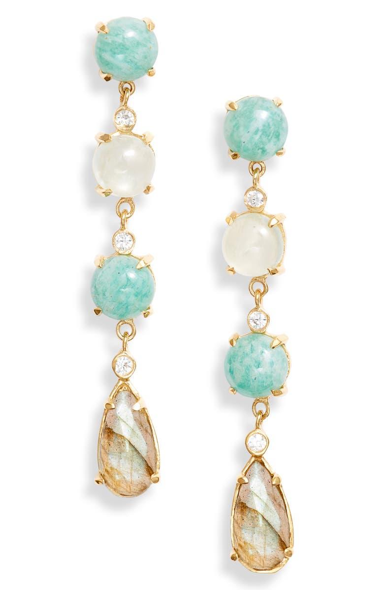 Argento Vivo Linear Drop Earrings