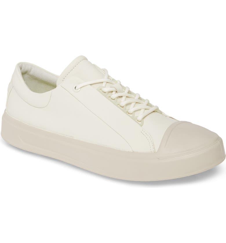 ECCO Flexure Cap Toe Sneaker, Main, color, SHADOW WHITE LEATHER