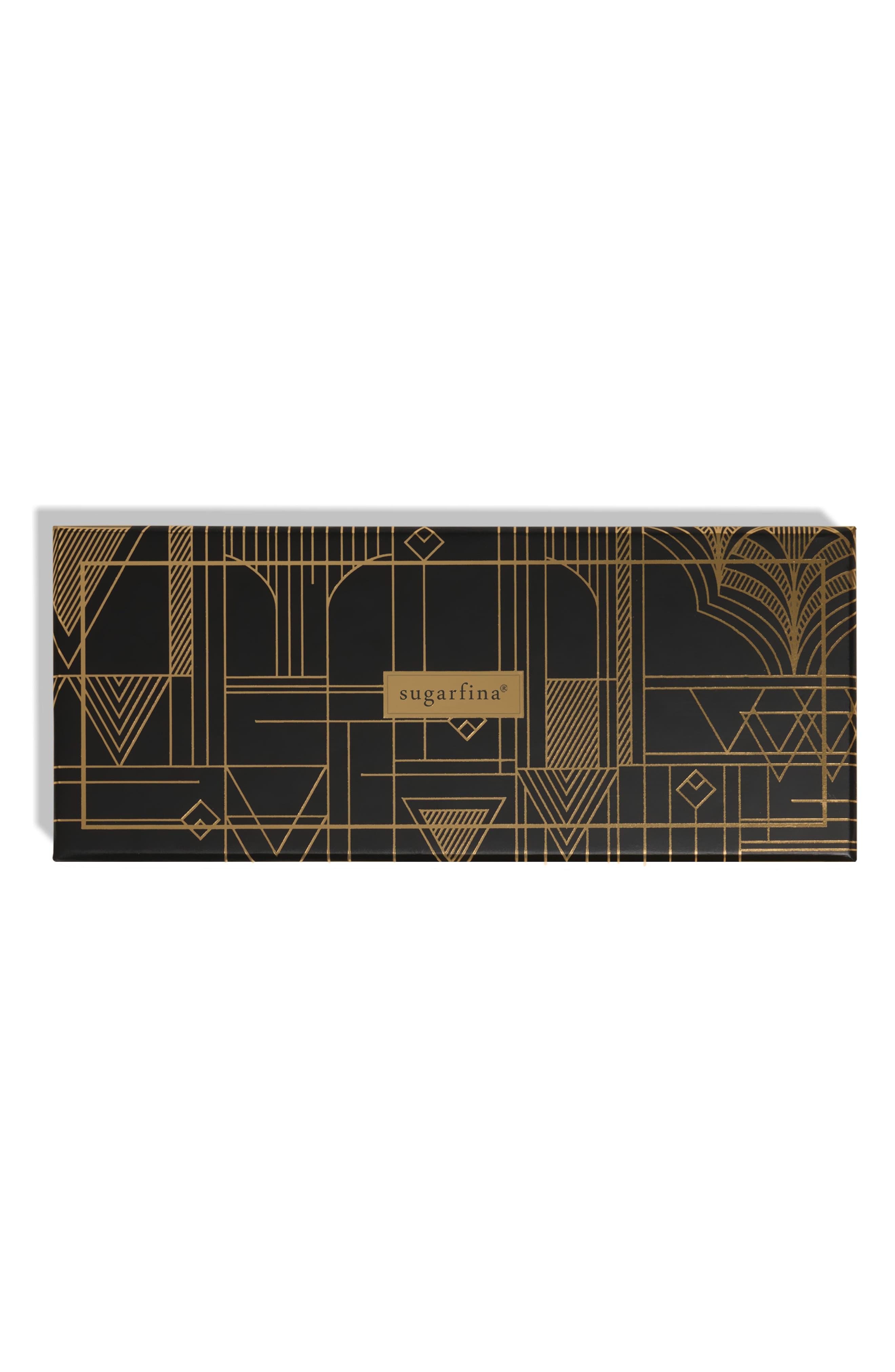 Image of SUGARFINA Vice Retro - 3-Piece Candy Bento Box (Black & Gold) Kit