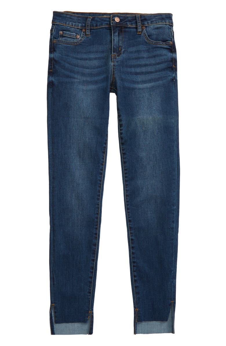 TRACTR Step Hem Ankle Skinny Jeans, Main, color, 407