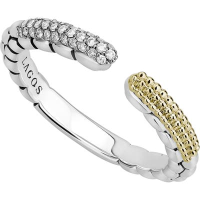 Lagos Caviar Lux Open Stacking Ring