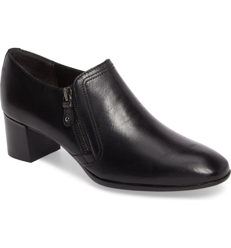 MUNRO Annee Pump, Main, color, BLACK LEATHER