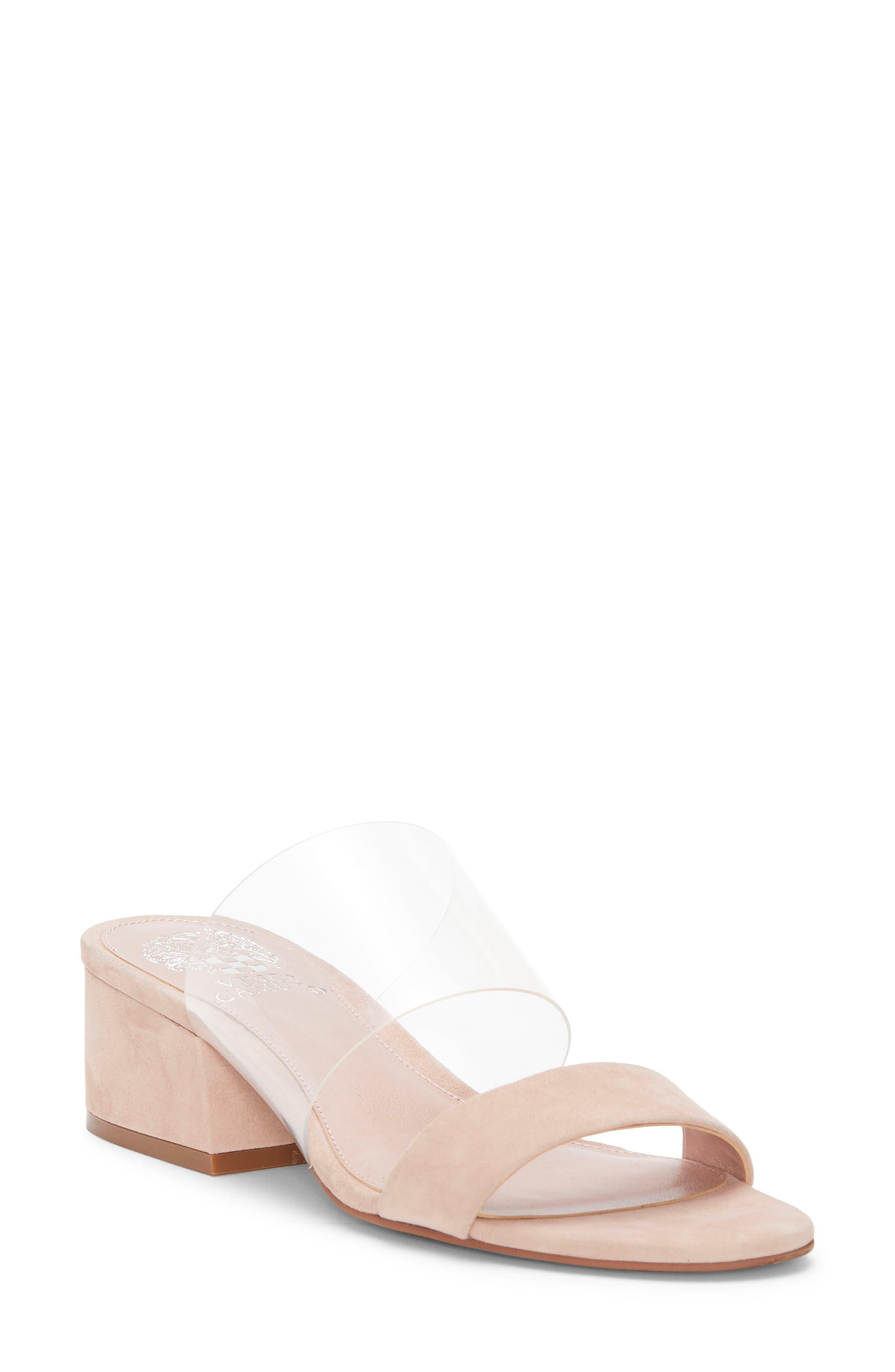 Vince Camuto Caveera Slide Sandal- Pink