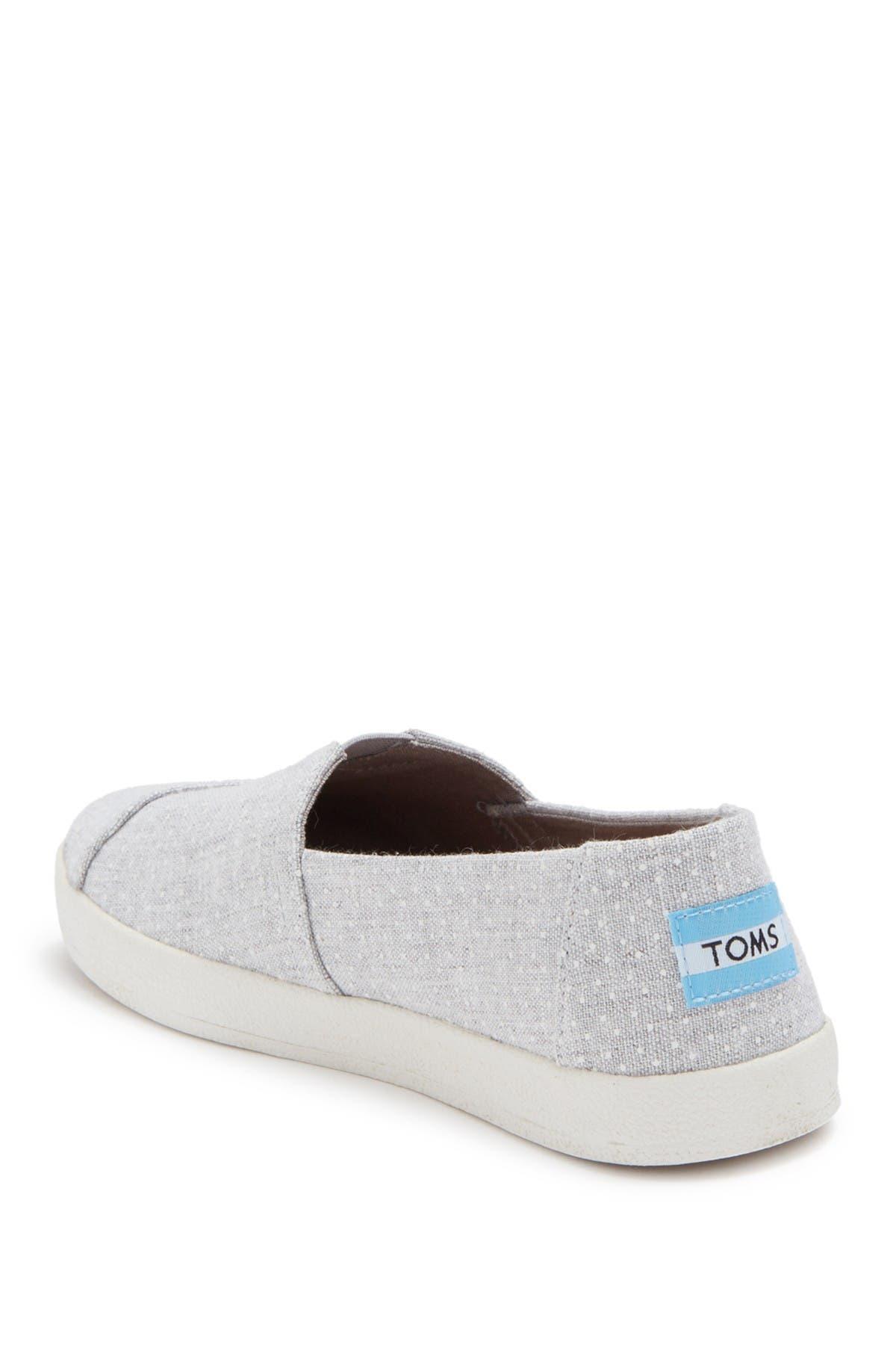Image of TOMS Avalon Polka Dot Print Slip-On Sneaker