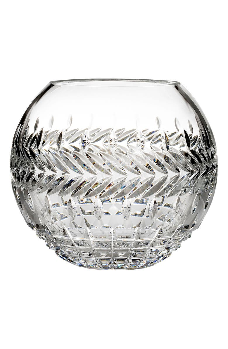 WATERFORD Fleurology Jeff Leatham Meg Bowl, Main, color, CRYSTAL