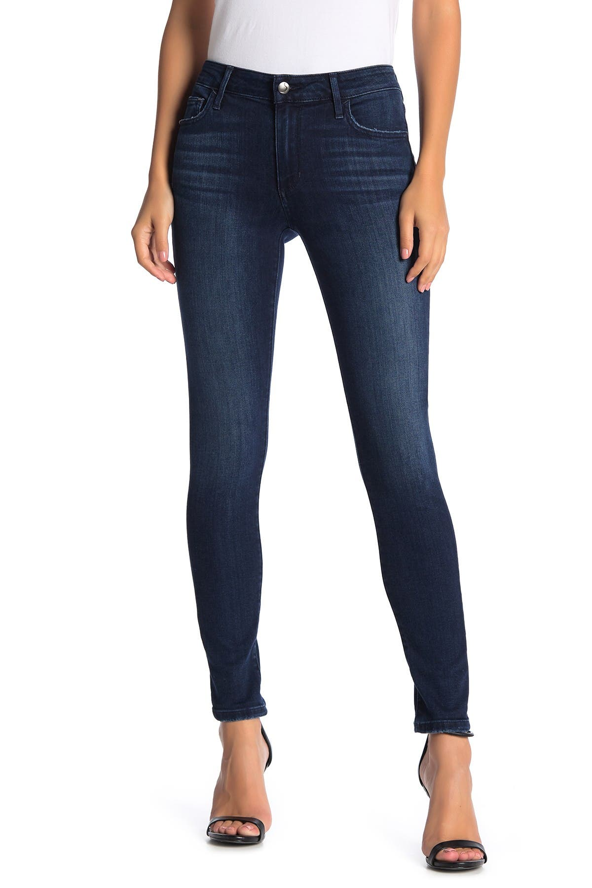 Image of Joe's Jeans Mid Rise Curvy Skinny Jeans