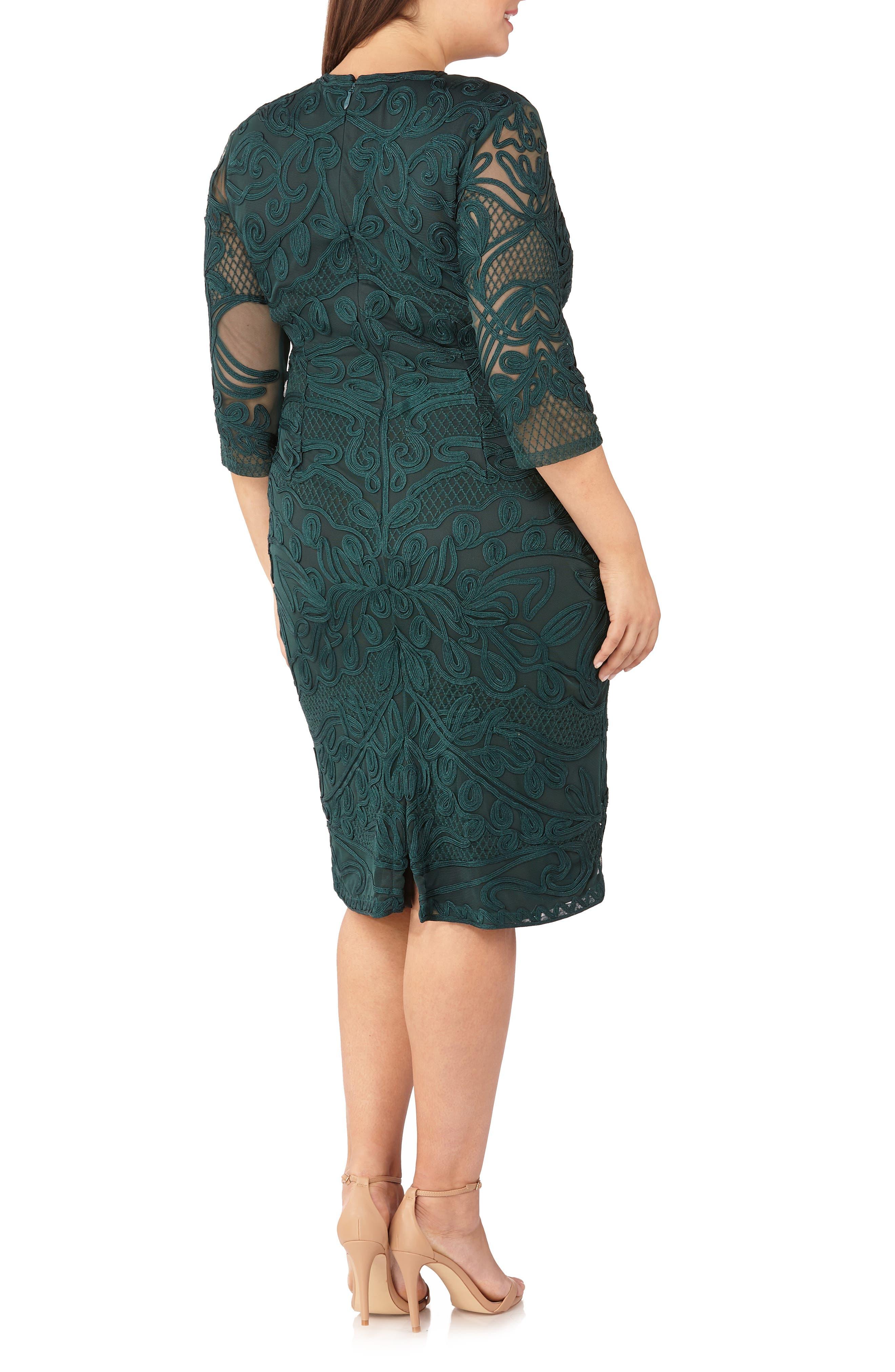 ,                             Soutache Sheath Dress,                             Alternate thumbnail 2, color,                             309