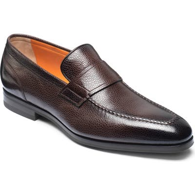 Santoni Nambia Loafer, Brown