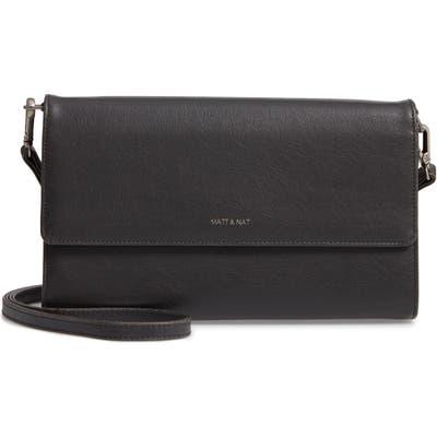 Matt & Nat Large Drew Faux Leather Crossbody Bag -