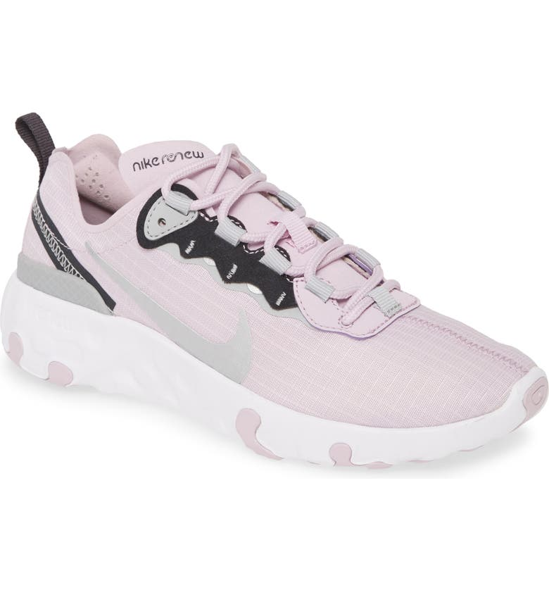 NIKE Renew Element 55 Sneaker, Main, color, ICED LILAC/ SILVER/ NOIR