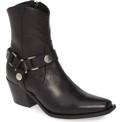 Charles David Polo Western Boot, Black