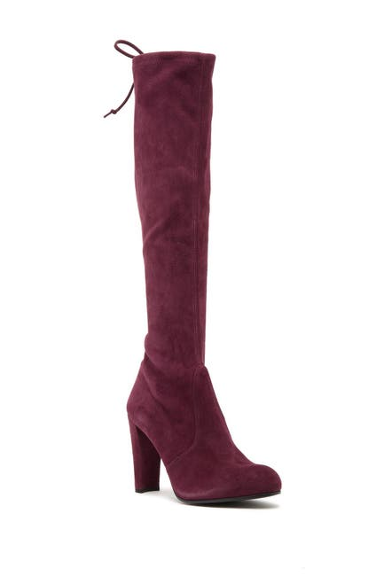 Image of Stuart Weitzman Keenland Knee High Stretch Suede Boot
