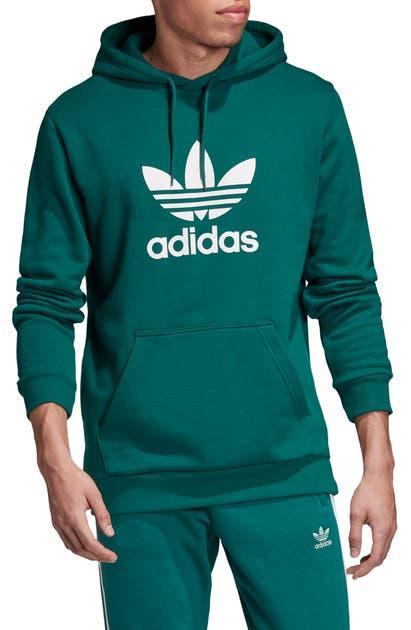 Adidas Originals Tops Trefoil Hoodie