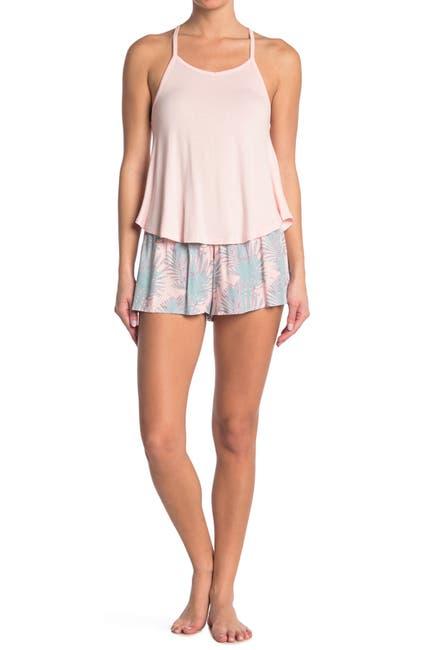 Image of Honeydew Intimates Print Tank Top & Shorts Pajama 2-Piece Set